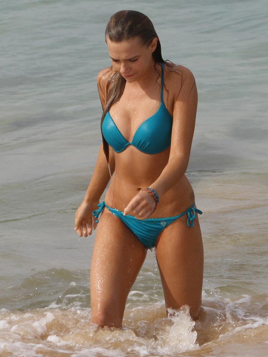 Bikini indiana evans 49 hottest