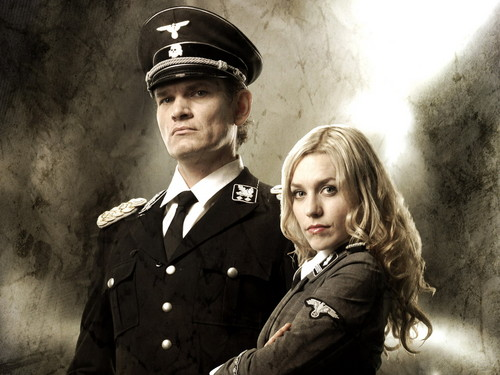 Iron Sky wallpaper with a green beret, fatigues, and regimentals entitled iron sky