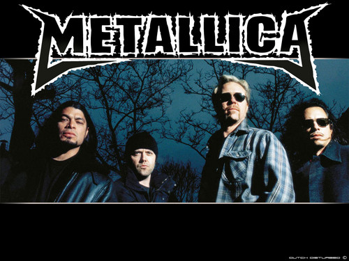 Metallica wallpaper with anime called metallica