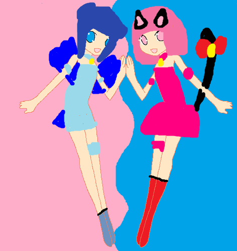 mew minto and mew ichigo