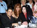 michael with his friends - michael-jackson photo