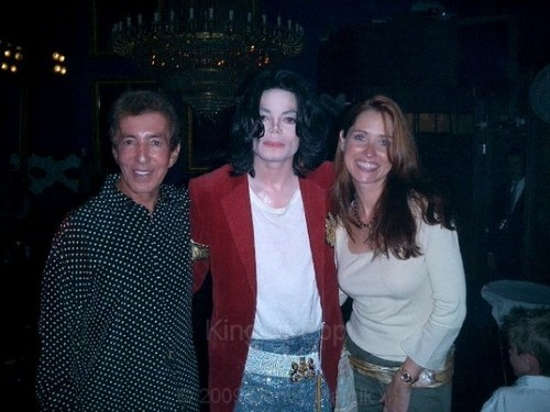 michael with his friends