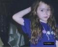 miley cuando era pequeña ...divina