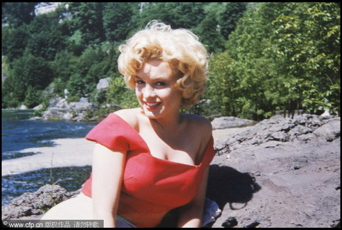 never-seen-before প্রতিমূর্তি of Marilyn Monroe