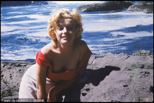 never-seen-before picha of Marilyn Monroe