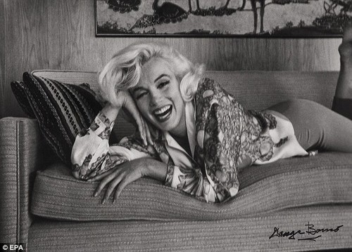 never-seen-before imej of Marilyn Monroe