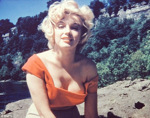never-seen-before afbeeldingen of Marilyn Monroe