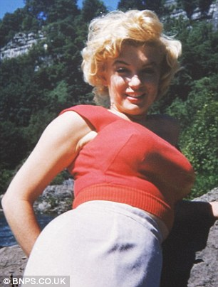 never-seen-before 이미지 of Marilyn Monroe