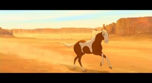 Spirit: Stallion Of The Cimarron wallpaper titled rain
