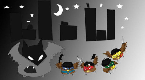 real bat family