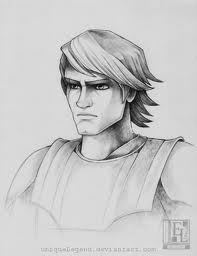 sketch of Anakin