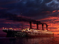 titanic painting - rms-titanic photo