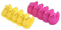 yellow&pink peeps