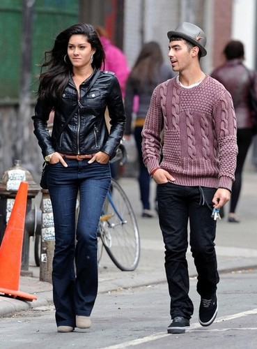 Joe Jonas and Elizabeth Zayas 2012
