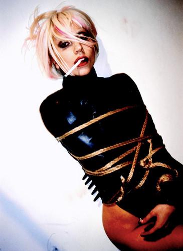 Lady Gaga by Nobuyoshi Araki