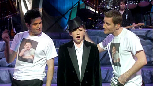 Paul Byrom & Damian Mcginty & Ryan kelly