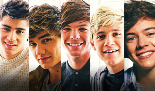 One Direction wallpaper probably with a portrait titled 1D Love!