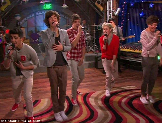 1d on icarly one direction photo 30408539 fanpop