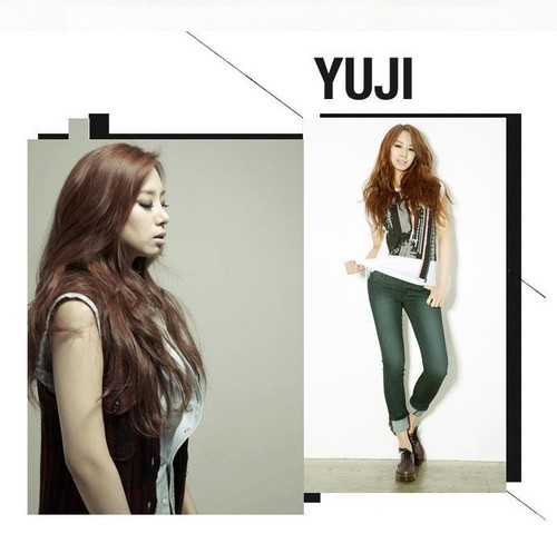 EXID (이엑스아이디) achtergrond containing a portrait and attractiveness entitled 1st Look Yuzi