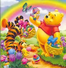 Winnie Pooh fondo de pantalla possibly with anime entitled 5th día of Easter week