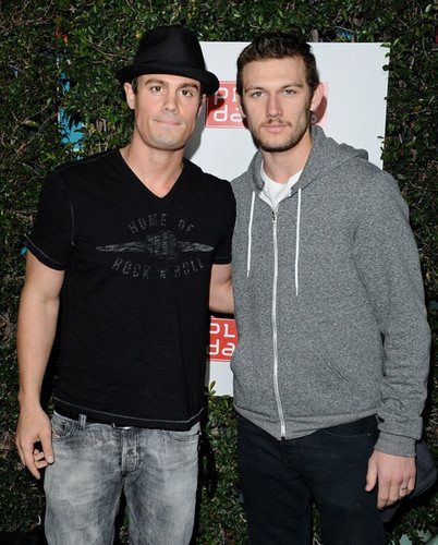 Alex Pettyfer | Planet Dailies And Mixology 101 Grand Opening - April 5, 2012