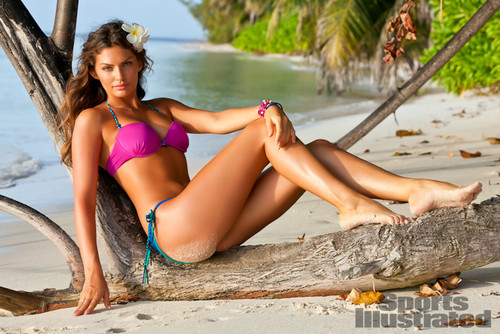 swimsuit si wallpaper containing a bikini titled Alyssa Miller