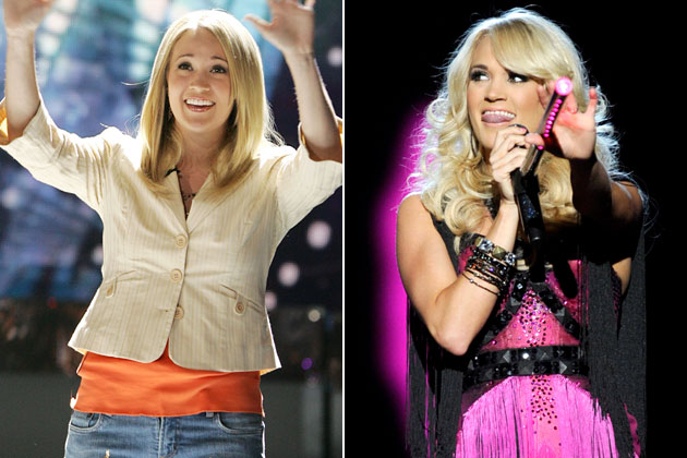 American Idol Carrie Underwood Then And Now Rusher29 Photo