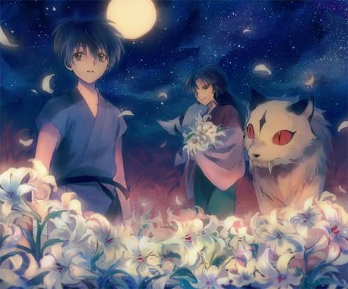 Among the Lillies