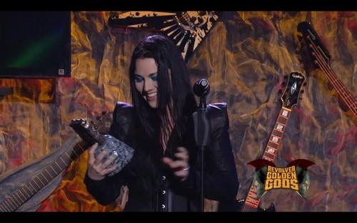 Amy Best Vocalist @ Golden Gods Awards