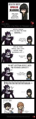 An appel, apple a dag