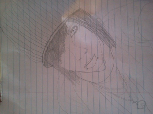 Andy drawing