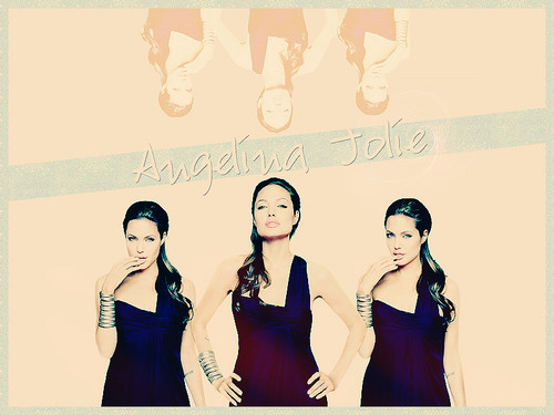 Angelina Jolie wallpaper possibly with a portrait called AngelinaJolie