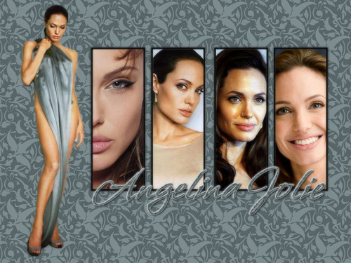 Angelina Jolie wallpaper probably containing a portrait titled AngelinaJolie