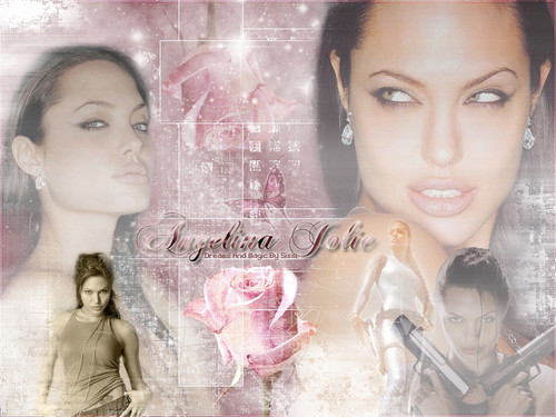Angelina Jolie wallpaper possibly with a portrait titled AngelinaJolie