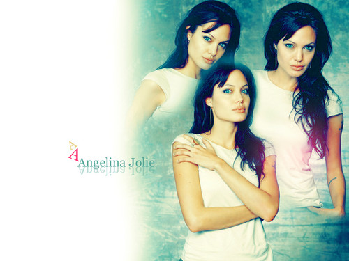 Angelina Jolie wallpaper probably containing a portrait and skin called AngelinaJolie