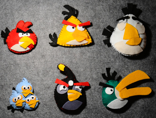 Angry Birds Hintergrund called Angry Birds Crafts