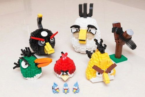 angry birds wallpaper called Angry Birds Crafts