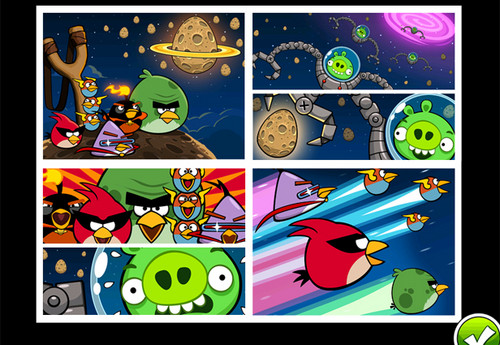 angry birds wallpaper containing anime titled Angry Birds!