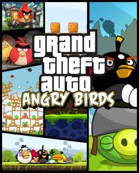 angry birds wallpaper possibly containing anime called Angry Birds!