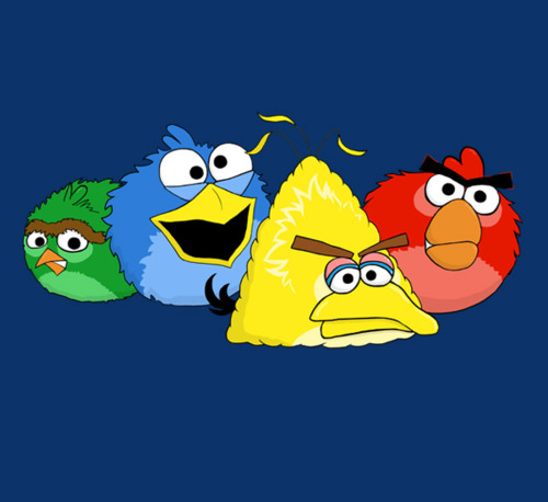 angry birds wallpaper entitled Angry Birds!