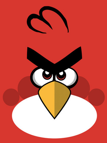Angry Birds wallpaper probably containing a venn diagram entitled Angry Birds!