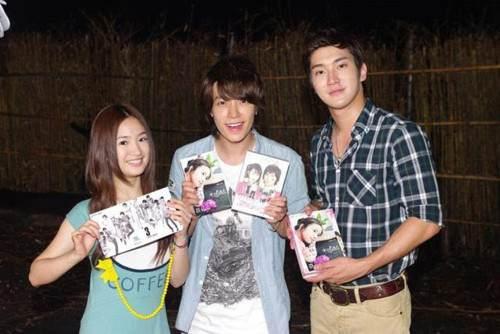 Ariel lin, Donghae, Siwon