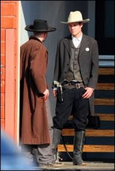 "Armie Hammer on the movie set ""The Lone Ranger"". - the-lone-ranger Photo"