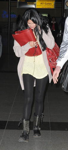 Arriving at JFK in New York - April 10