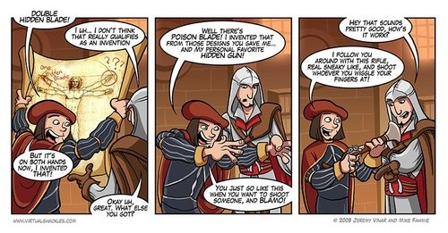 Assassin's Creed II comic
