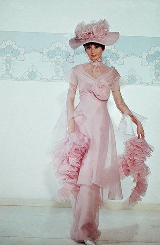 Audrey as Eliza Doolittle
