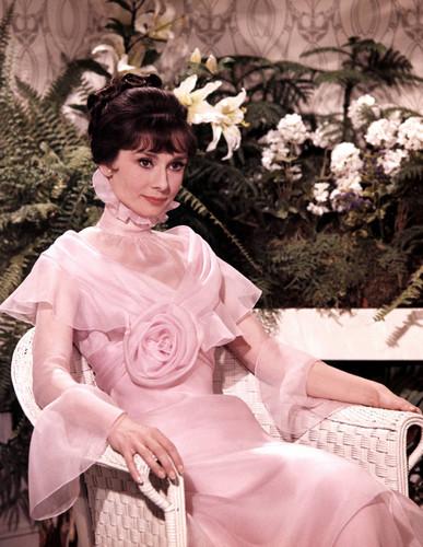 Audrey as Eliza Doolittle