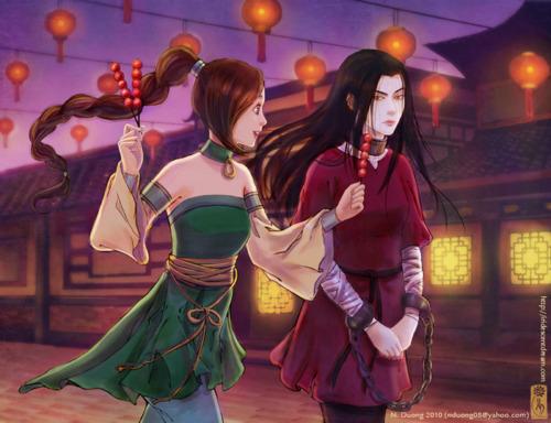 Azula and Ty-lee.