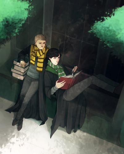 BBC Sherlock - Hogwarts