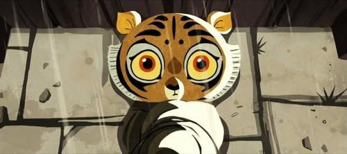 Baby Cub शेरनी, बाघ
